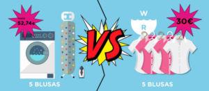Lavar en casa vs lavar a domicilio