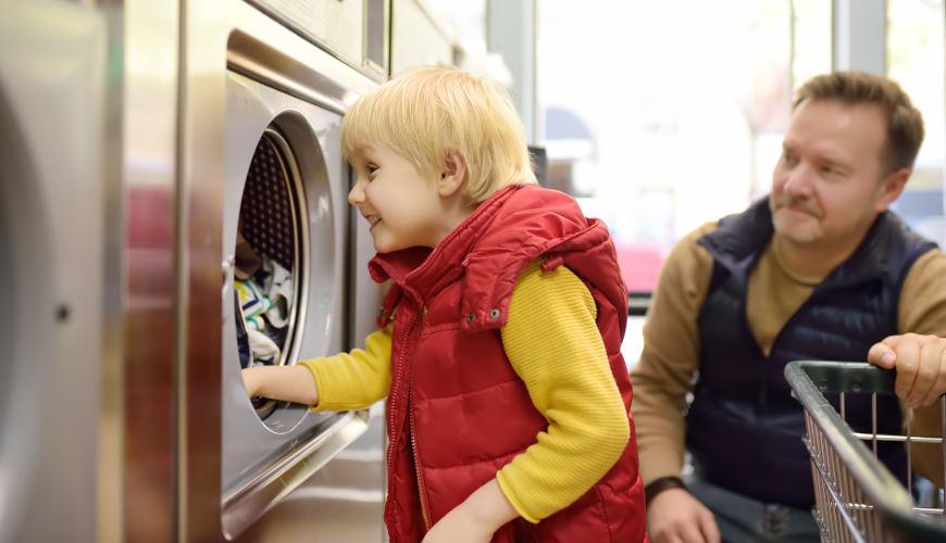 como evitar que la lavadora se mueva