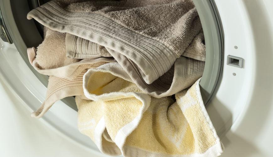 como lavar toallas