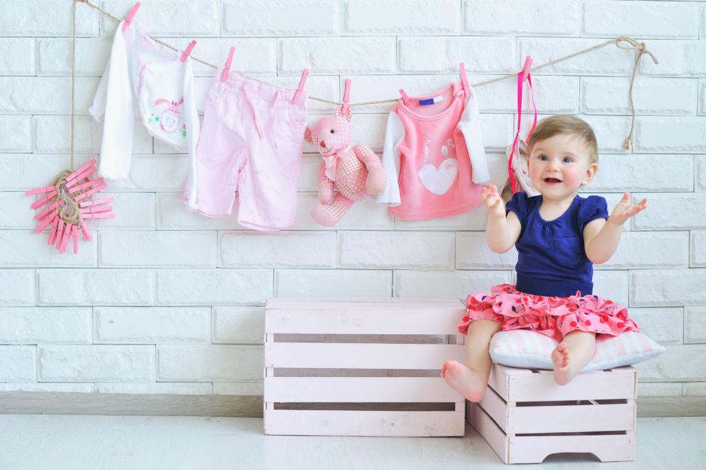 cómo lavar la ropa de tu bebé