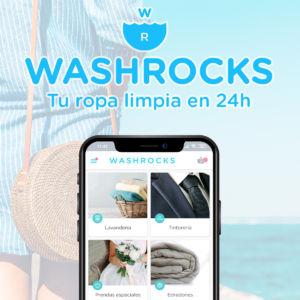 Washrocks es tu lavandería a domicilio en 24h